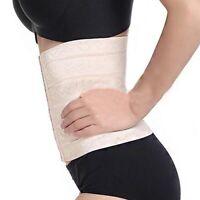 Women Elastic Rubber Body Shaper Corset Underbust Breathable Waist Trainer Belt
