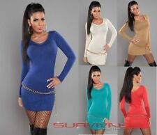 Long Sleeve Viscose Clubwear Solid Tops & Blouses for Women