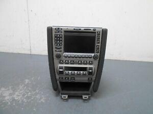 2008 07 08 Porsche Cayman S DE1 Radio / CD / Nav / HVAC Controls / Seat  #1502