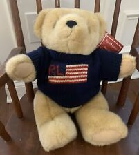 Vintage Ralph Lauren Polo Sport Teddy Bear Plush 1996 Has Hang Tag