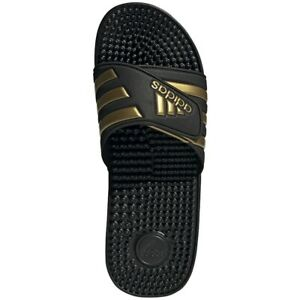 Adidas Adissage Black Slides Shower Sandal Athletic EG6517 Unisex Sizes 5-13