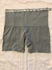 NWOT HSN Yummie Seamless  H. Thomson Brief Boy Shorts Panty Size - Grey - 1x/2x