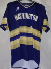 WASHINGTON ATHLETICS A's Russell Athletic Game Used Worn Baseball Jersey Sz M