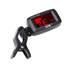 AROMA AT-200D Guitar Tuner Clip-On Chromatic Tuner For Guitar Bass Ukulele Banjo