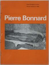 1966 PIERRE BONNARD Exhibition Catalog Royal Academy of Arts London England