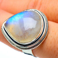 Large Rainbow Moonstone 925 Sterling Silver Ring Size 8 Ana Co Jewelry R33249F