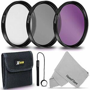 67mm Filter Kit - UV FLD CPL f/ Nikon DSLR Cameras