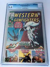 WESTERN GUNFIGHTERS # 2 CGC 9.4 Sutton, Ayers Bronze Marvel Western Ghost Rider