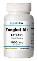Tongkat Ali 1000mg High Potency 120 Capsules Eurycoma Longifolia Longjack