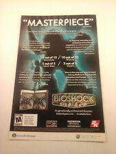 2007 Video Game Print Ad - BIOSHOCK - XBOX 360 WINDOWS 2K