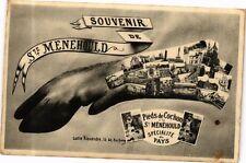 CPA  Souvenir de Ste-Menehould - Pieds de Cochon á la Ste-Ménéhould...  (245353)