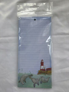 Emma Ball Swimming Seals Magnetic Notepad Shopping List Memo Pad To Do Lists