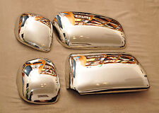 Scania L/ P/G/ R/ Streamline Super Polished Mirror Covers Stainless Steel Set