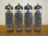 4x 6P14P (7189, 6BQ5 EL84, E84L) USSR OUTPUT PENTODE (NEW, NOS, MATCHED DATE)