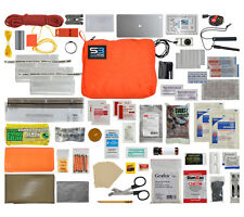 Survival Kit Hunter Mountain Orange Solkoa Professional Emergency Gear