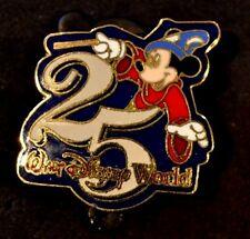 Disney Pins - WDW 1996 - 25th Anniversary Sorcerer Mickey - VINTAGE! RARE!