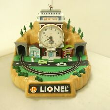 Lionel 100th Anniversary Talking Alarm Clock Authentic Railroad Sounds with Box