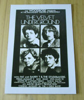 THE VELVET UNDERGROUND : AT THE PARAMOUNT : A4 GLOSSY REPRODUCTION POSTER