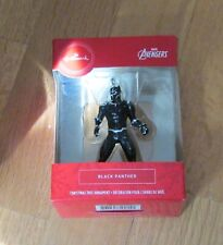 New in package Hallmark Christmas Tree Ornament Avengers Black Panther