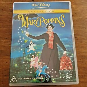 Mary Poppins DVD R4 Like New! – FREE POST