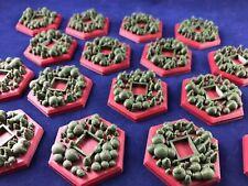 Terraforming Mars Greenery Tile Upgrade (16 pack - Custom 3D Printed)
