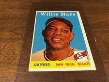 1958 Willie Mays #5 EX