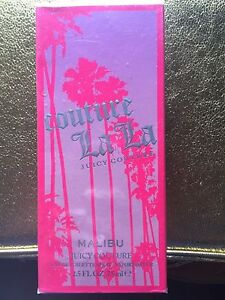 "COUTURE LA LA by juicy couture ""Malibu"" EDT 2.5oz. Boxed (sealed)~100% Authentic"