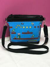 Mario Brothers Handmade Vinyl Crossbody Purse Bag Handbag Shoulder Bag Pink Kiss
