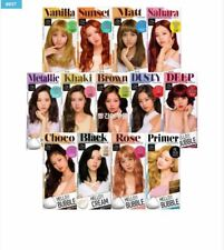Easy Self Hair Dye  Mise-en-scene Hello Bubble Foam No-Damage Smelless (10Color)