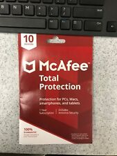 McAfee Total Protection, 10 devices (PCs, smartphones, Tablets, Mac, Windows)