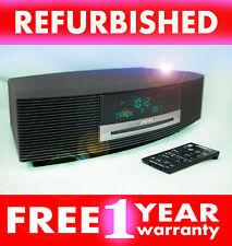 REFURBISHED Bose Wave CD Player AM/FM Radio iPhone/iPod AWRCC1 Graphite Grey