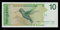 NETHERLANDS ANTILLES 10 GULDEN 1994  PICK 23 c   UNC.