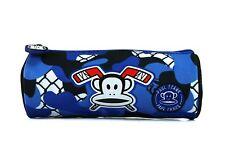 Paul Frank Juventud Logotipo Azul Estuche Lápiz Barril Escuela Colegio Arte