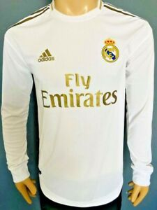 Jersey Real Madrid 2019-20 Home Long Sleeve Climachill Original SALE