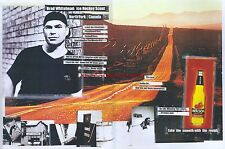 "Molson Beer ""Brad Whitehead"" 1999 Magazine Double Page Advert #4944"