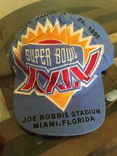 The Game Big Logo Hat Cap super Bowl XXIV 1995 Joe Robbie Stadium