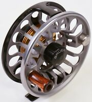 Bauer Fly Reel RX5 Charcoal Graphite FREE LINE, BACKING & FAST SHIPPING