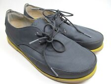 OLUKAI MEN'S HONOLULU MESH LACE UP DARK GRAY SIZE 10 M