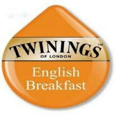 8 x Tassimo Twinings English Breakfast Tea T Discs Pods Sold Loose - 8 Drinks