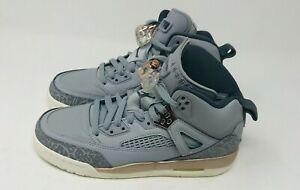 Nike Air Jordan Spizike Wolf Grey Dark Bronze GS Grade School Sz 4.5  535712-018