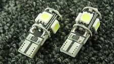 BMW CAR SIDE LIGHT BULBS LED ERROR FREE CANBUS 5 SMD XENON WHITE