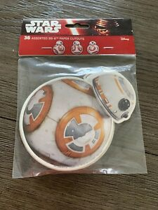 Star Wars Assorted BB-8 Paper Cutouts