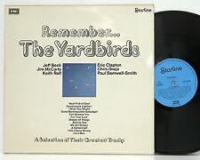The Yardbirds    Remember   MATRIX:  A-1 / B-1     Starline SRS 5069    NM  # 20