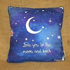Love You To The Moon And Back Decorative Throw Pillow Primitives By Kathy
