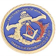 Freemason Masonic Collector's Coin: The 7 Liberal Arts Of Freemasonry