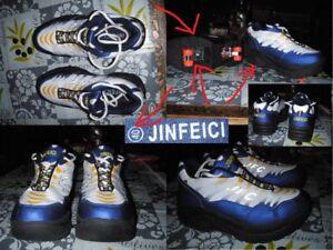 Orig. JFC JINFEICI Rollschuhe Turnschuhe Gr.40 neuwertig Heelys Skate Shoes rar