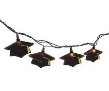 Graduation Hat Decorative Light String Set - Grad Party Decoration - Mortar, Cap