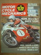 VINTAGE MAGAZINE MOTORCYCLE MECHANICS JUNE 1972