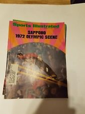 Sapporo - 1972 Olympic Scene  -Sports illustrated d 11/15/1971