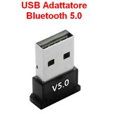 ADATTATORE BLUETOOTH 5.0 USB RICEVITORE Trasmettitore Wireless Audio chiavetta